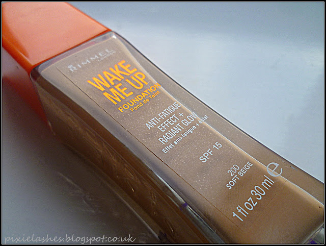 Rimmel-wake me up foundation