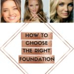 Drugstore Makeup Basics~ How To Choose The Perfect Foundation