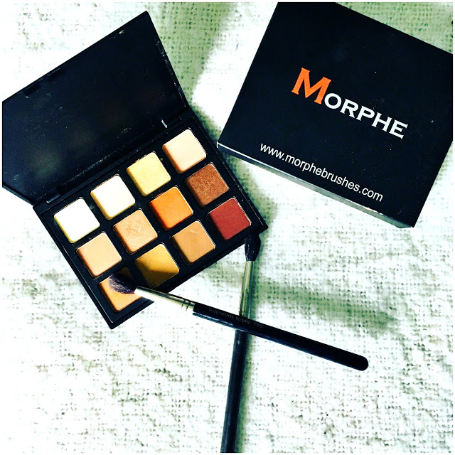 Morphe 12NB Palette- Review, Swatches, and an EOTD 2