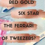 Review- Rubis Red Gold Tweezers. The Ferrari of Tweezers?