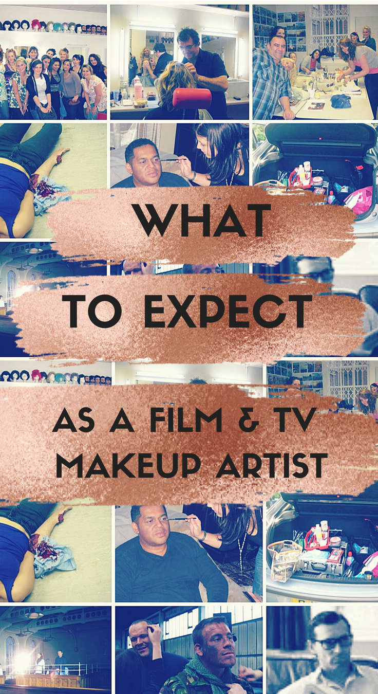 How to become a Make-up Artist For TV/Film and What to expect
