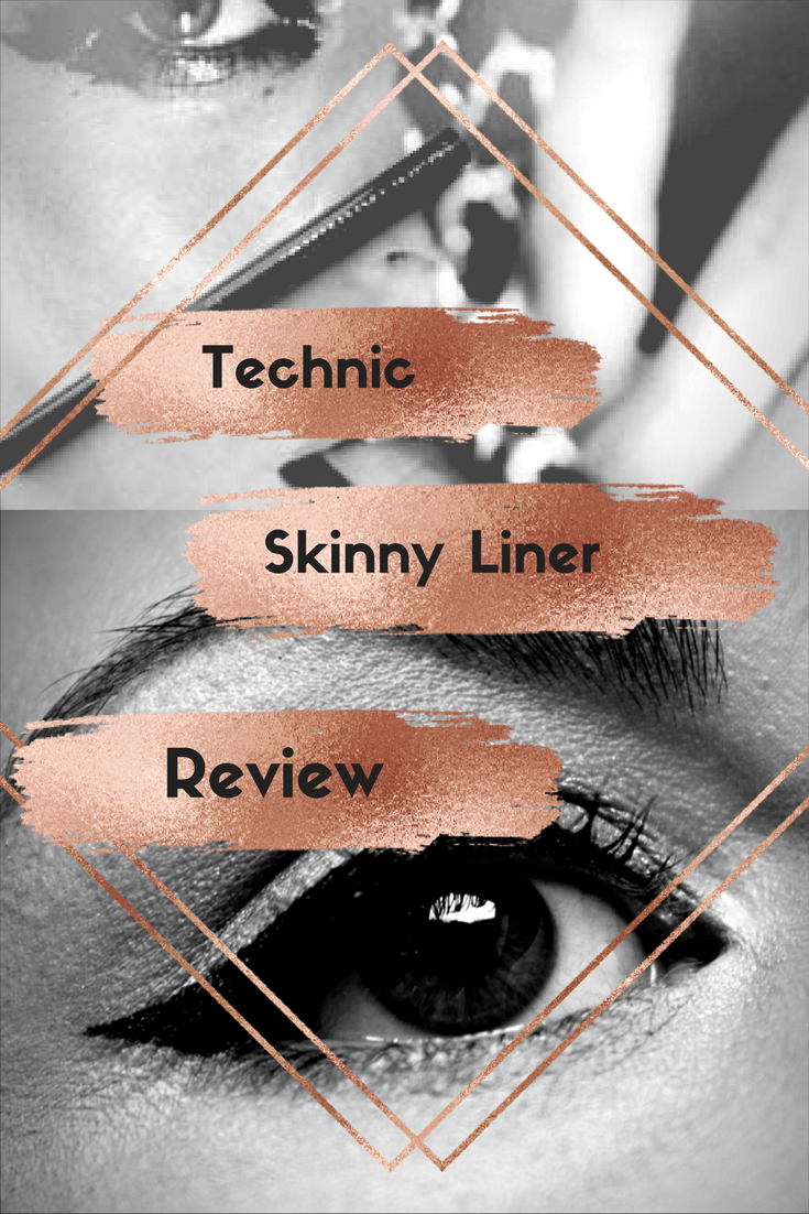 Cheap Make-Up Reviews #1~ technic Skinny Liner 12
