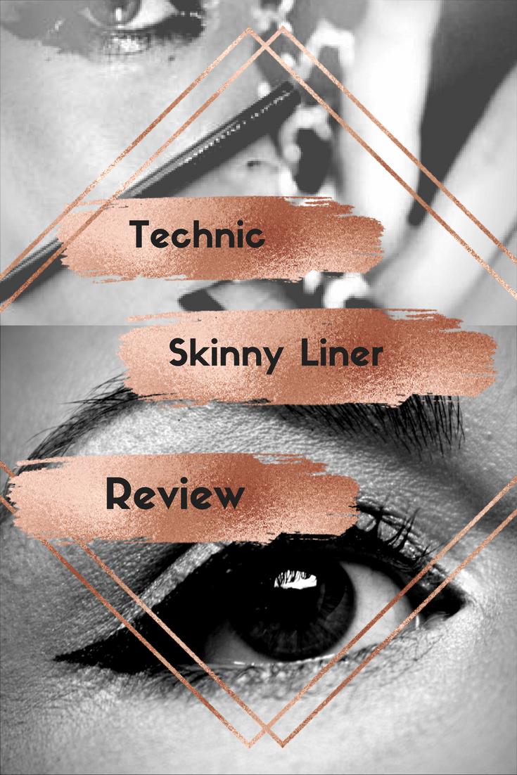 Cheap Make-Up Reviews #1~ technic Skinny Liner 12