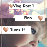Vlog Post 1~ Finn Turned 2!