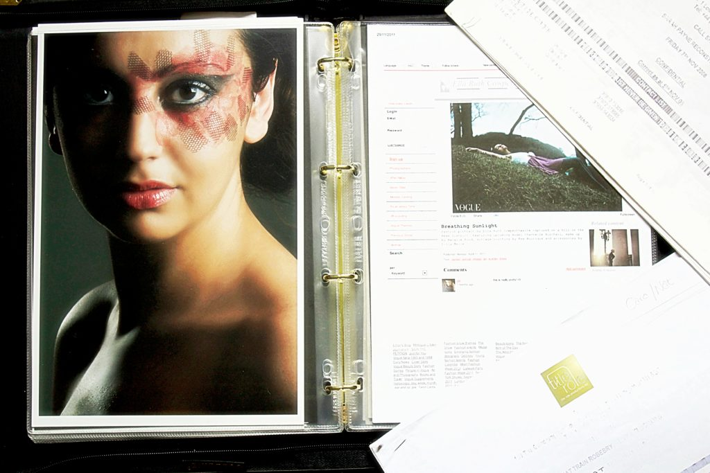 makeup-artist-portfolio-training-call-sheet
