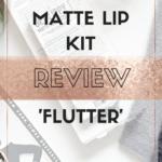 Review~ Primark Matte lip Kit 'Flutter'