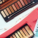 Urban Decay Naked Heat Eye Makeup Look and thoughts