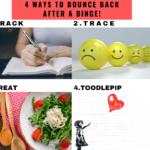 4 Ways To Bounce Back After A Binge